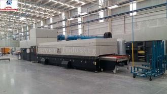 Auto GLASS TEMPERING FURNACE untuk Mobil side window side lites quater lites